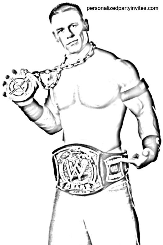 Randy Orton coloring #15, Download drawings