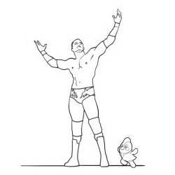 Randy Orton coloring #17, Download drawings