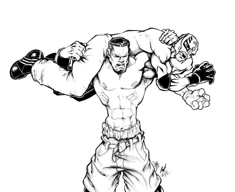 Randy Orton coloring #3, Download drawings