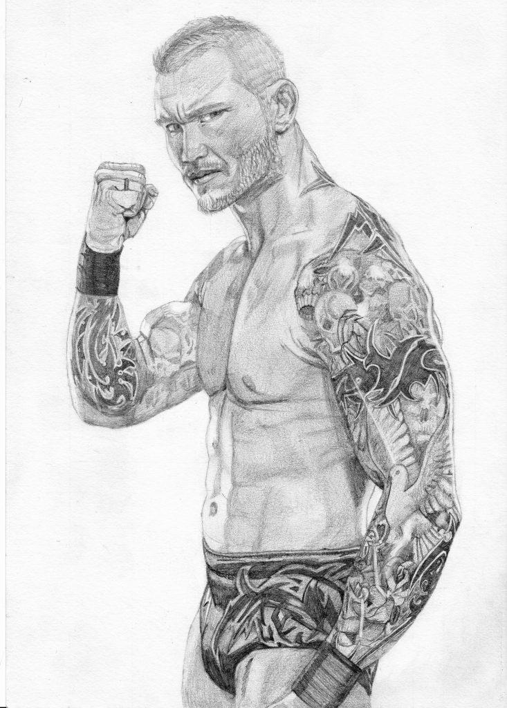 Randy Orton coloring #10, Download drawings