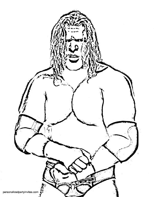 Randy Orton coloring #2, Download drawings