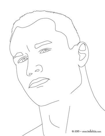 Randy Orton coloring #5, Download drawings