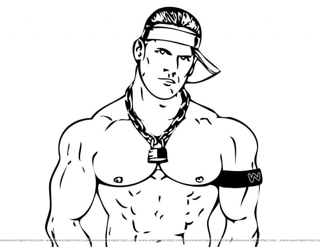 Randy Orton coloring #18, Download drawings