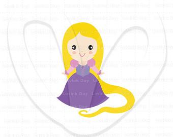 Rapunzel clipart #11, Download drawings