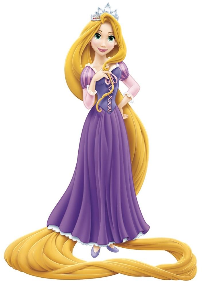 Rapunzel clipart #1, Download drawings