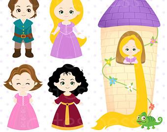 Rapunzel clipart #19, Download drawings