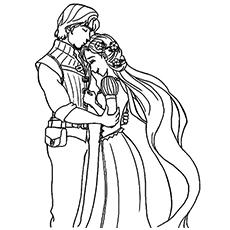 Rapunzel coloring #15, Download drawings
