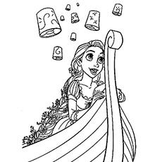 Rapunzel coloring #14, Download drawings