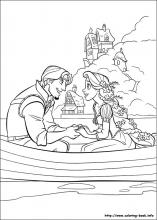 Rapunzel coloring #1, Download drawings