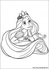 Tangled coloring #16, Download drawings