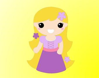 Rapunzel svg #489, Download drawings
