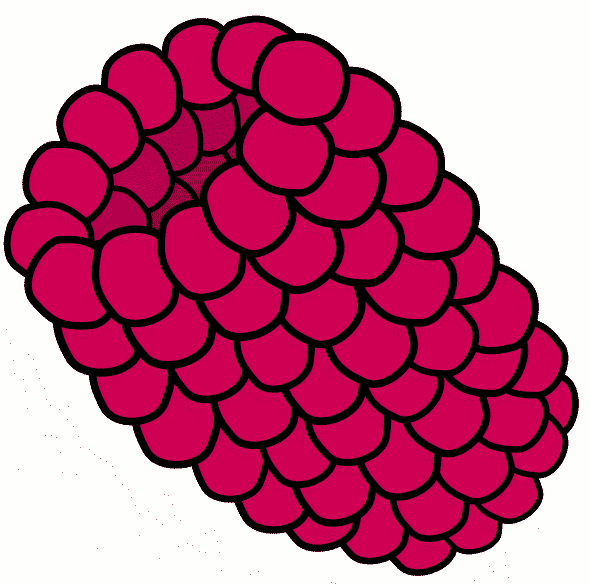 Raspberry clipart #1, Download drawings