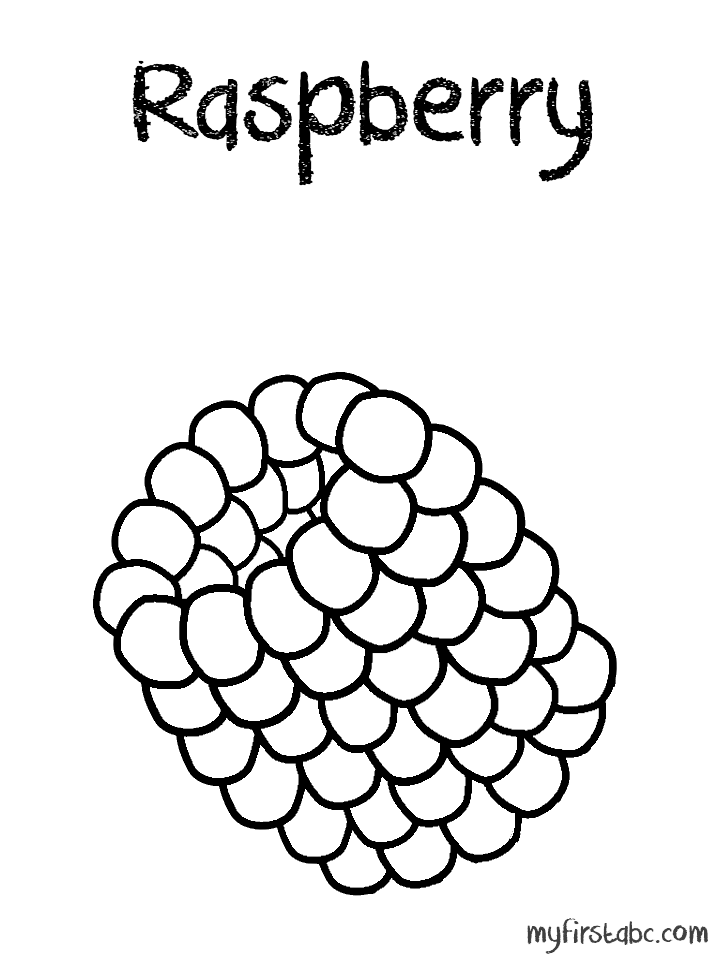 Raspberry coloring #18, Download drawings