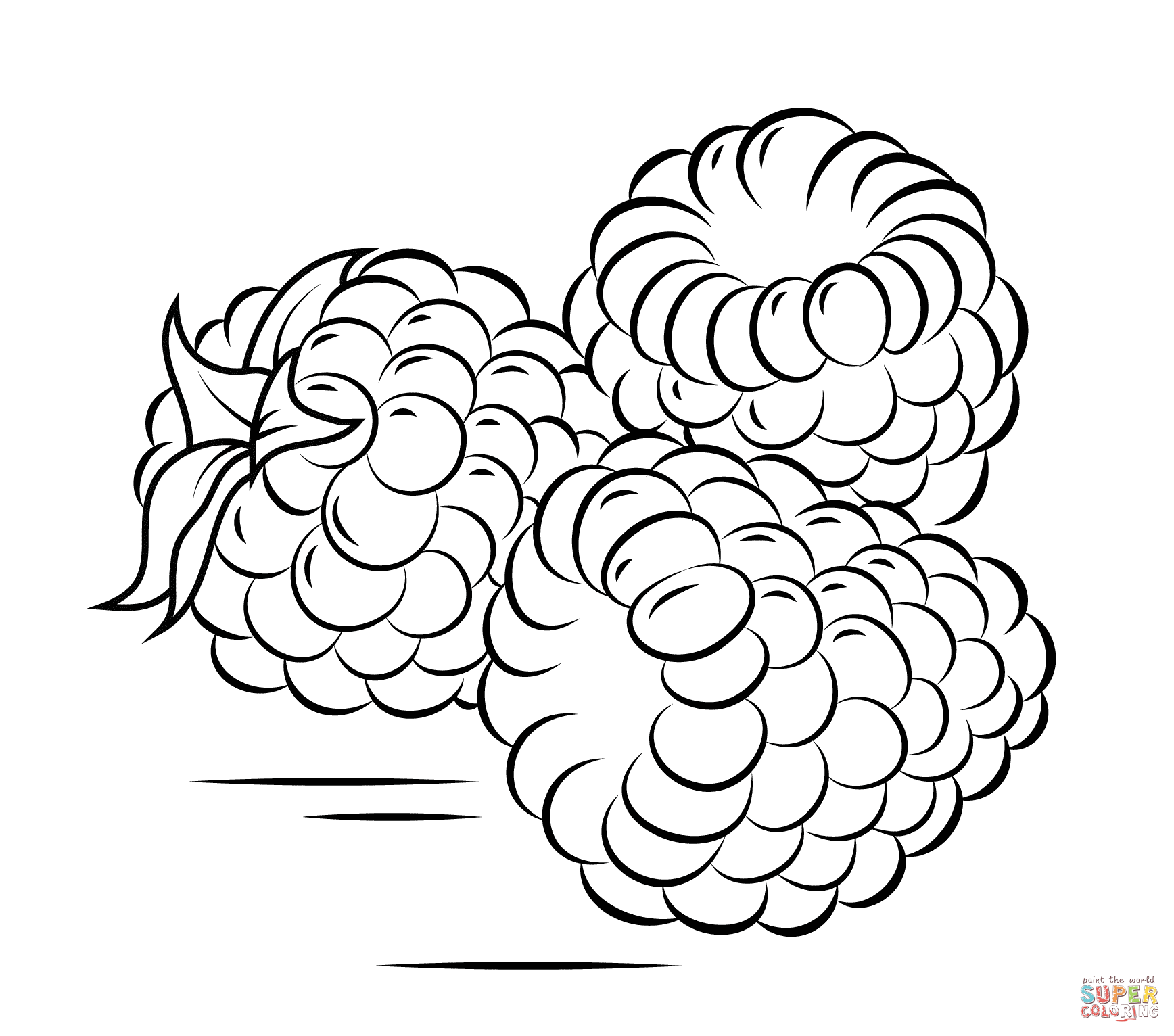 Raspberry coloring #14, Download drawings