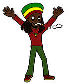 Rasta clipart #17, Download drawings
