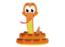 Rattlesnake clipart #11, Download drawings