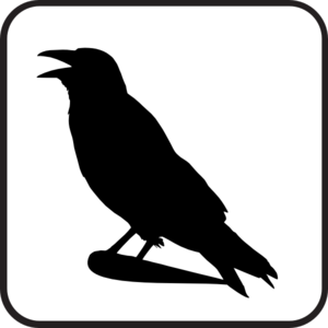 Raven clipart #8, Download drawings