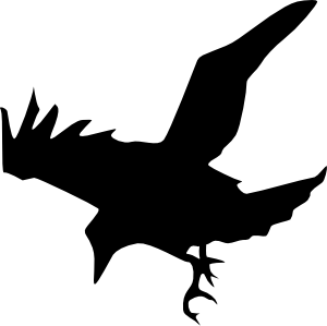 Raven clipart #15, Download drawings
