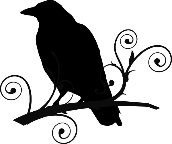 Raven clipart #4, Download drawings