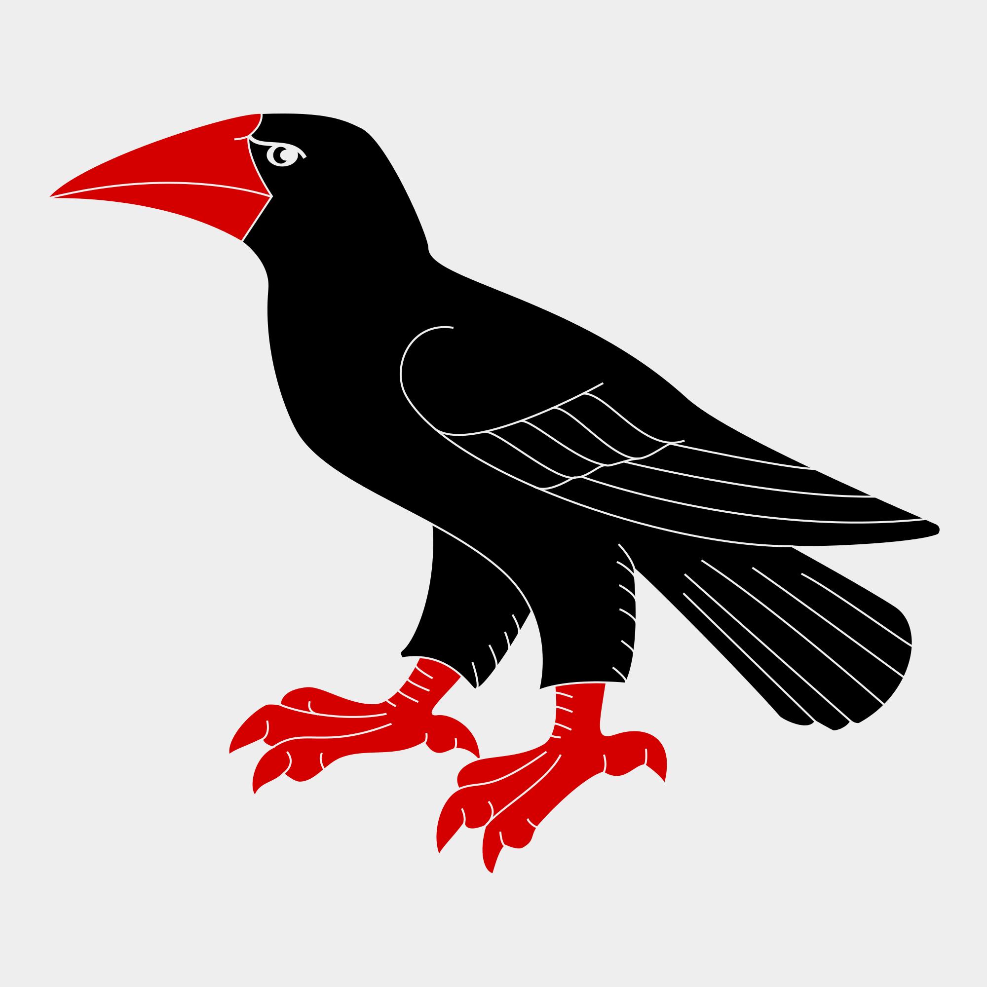 Raven svg #12, Download drawings