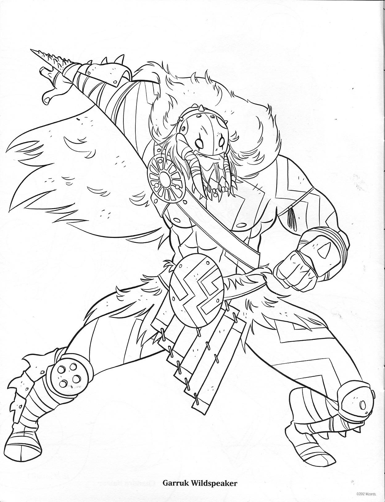 Ravnica (MTG) coloring #2, Download drawings