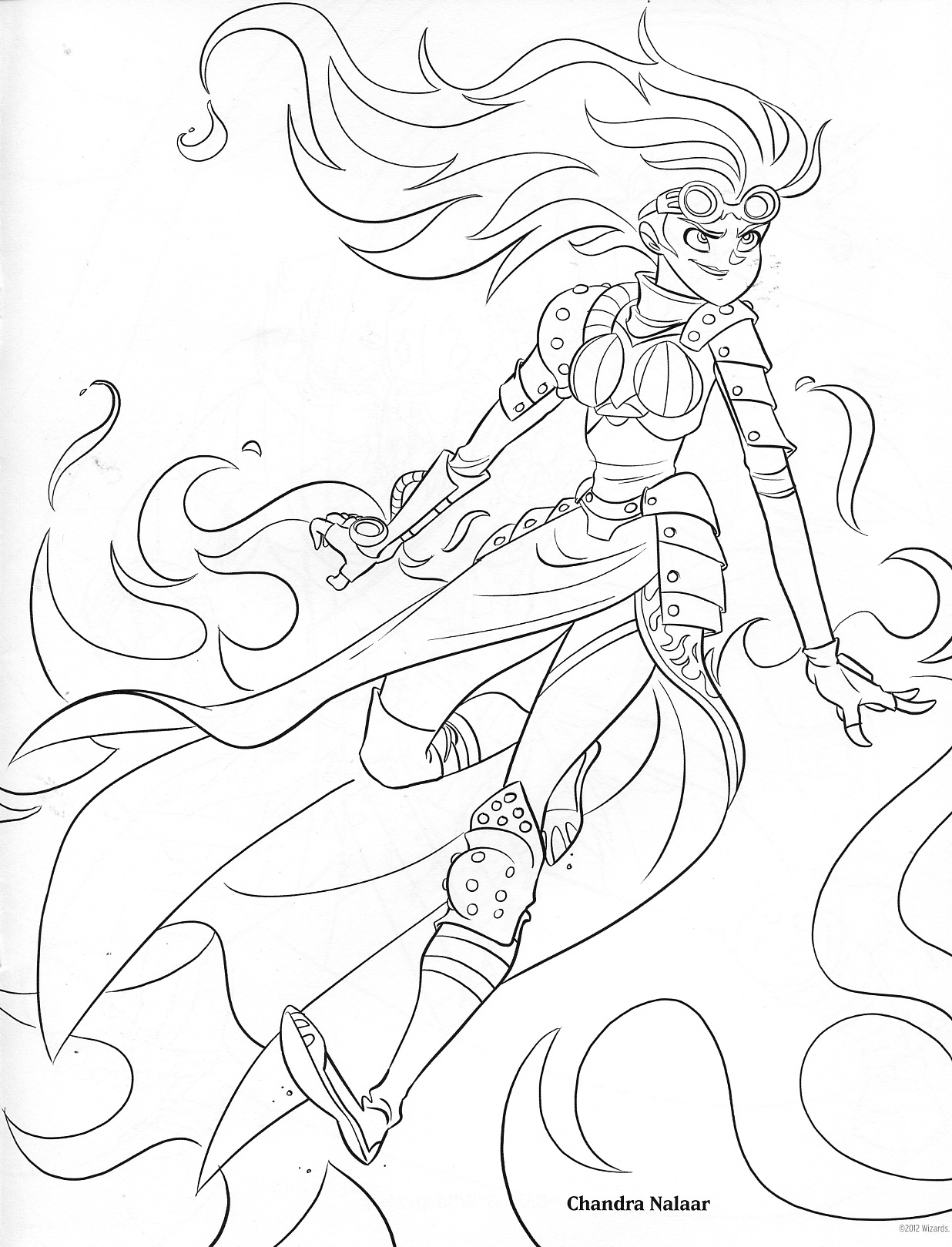 Ravnica (MTG) coloring #1, Download drawings