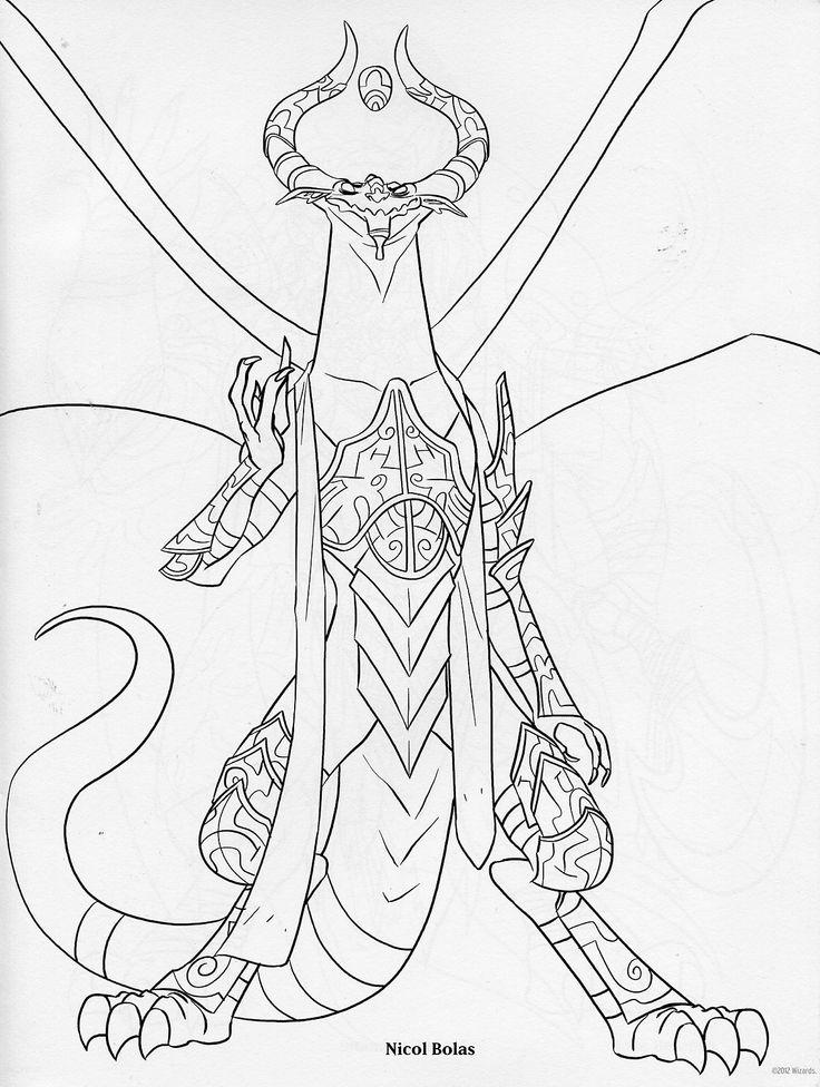 Ravnica (MTG) coloring #13, Download drawings