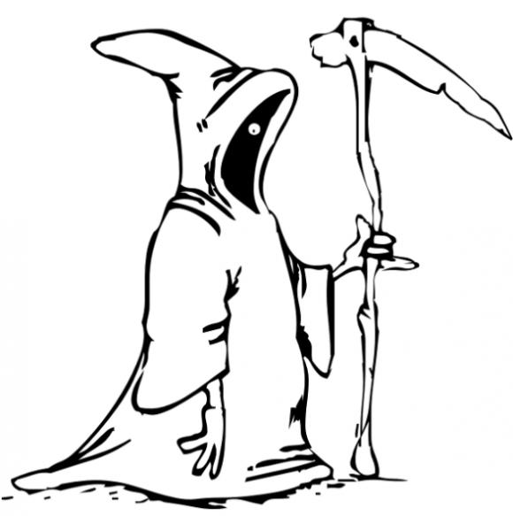 Reaper coloring #1, Download drawings