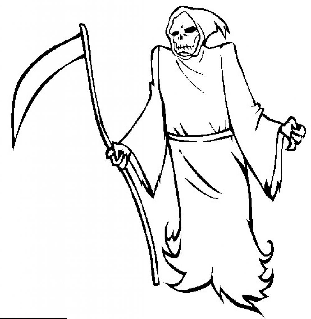 Reaper coloring #10, Download drawings