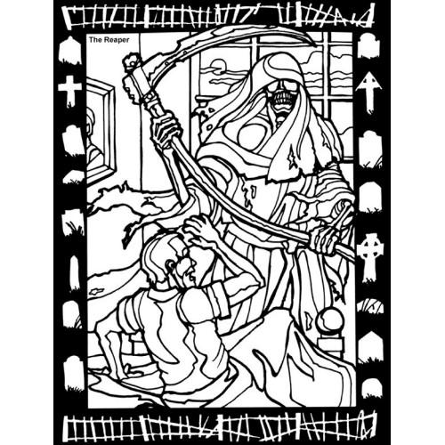 Reaper coloring #18, Download drawings
