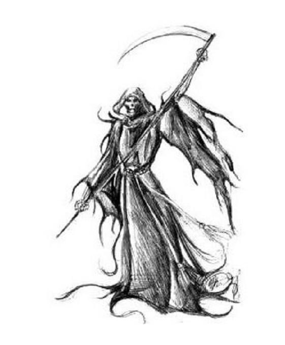 Reaper coloring #7, Download drawings