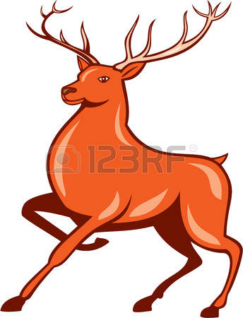 Red Deer clipart #3, Download drawings