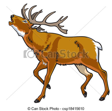 Red Deer clipart #16, Download drawings