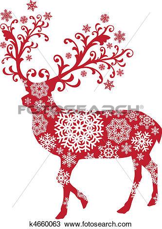Red Deer clipart #1, Download drawings