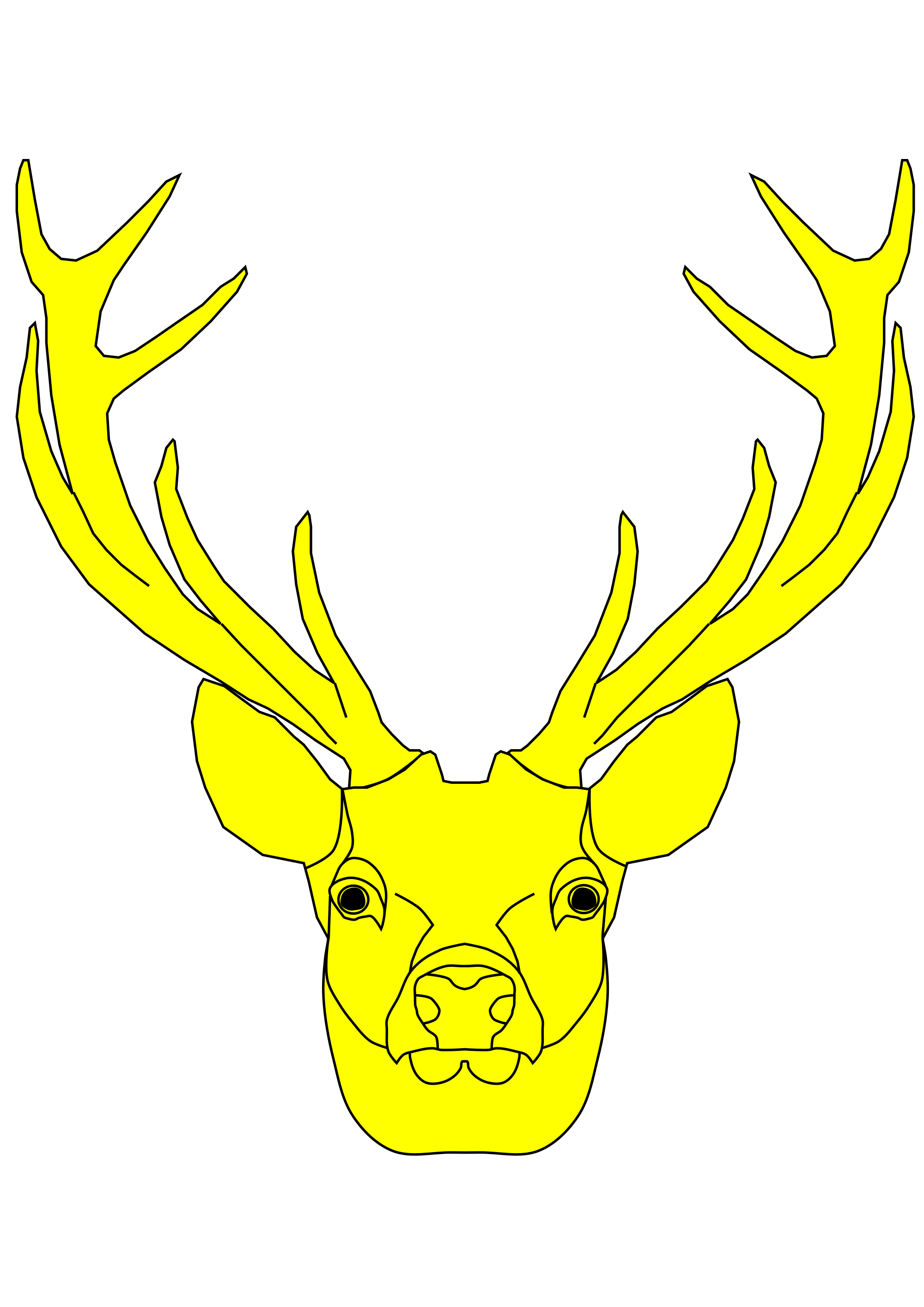 Red Deer svg #7, Download drawings