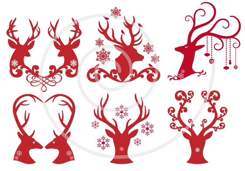 Red Deer svg #2, Download drawings