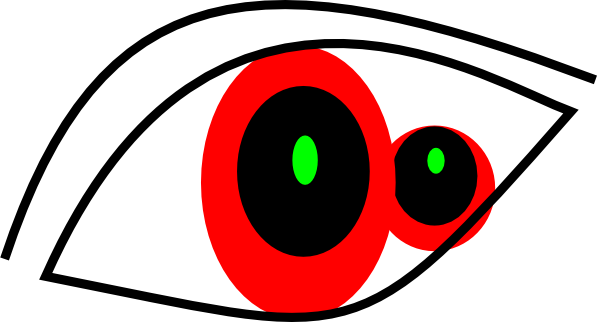 Red Eyes clipart #2, Download drawings