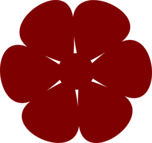 Red Flower clipart #16, Download drawings