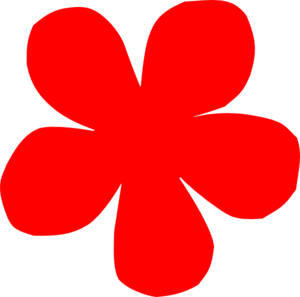 Red Flower clipart #20, Download drawings