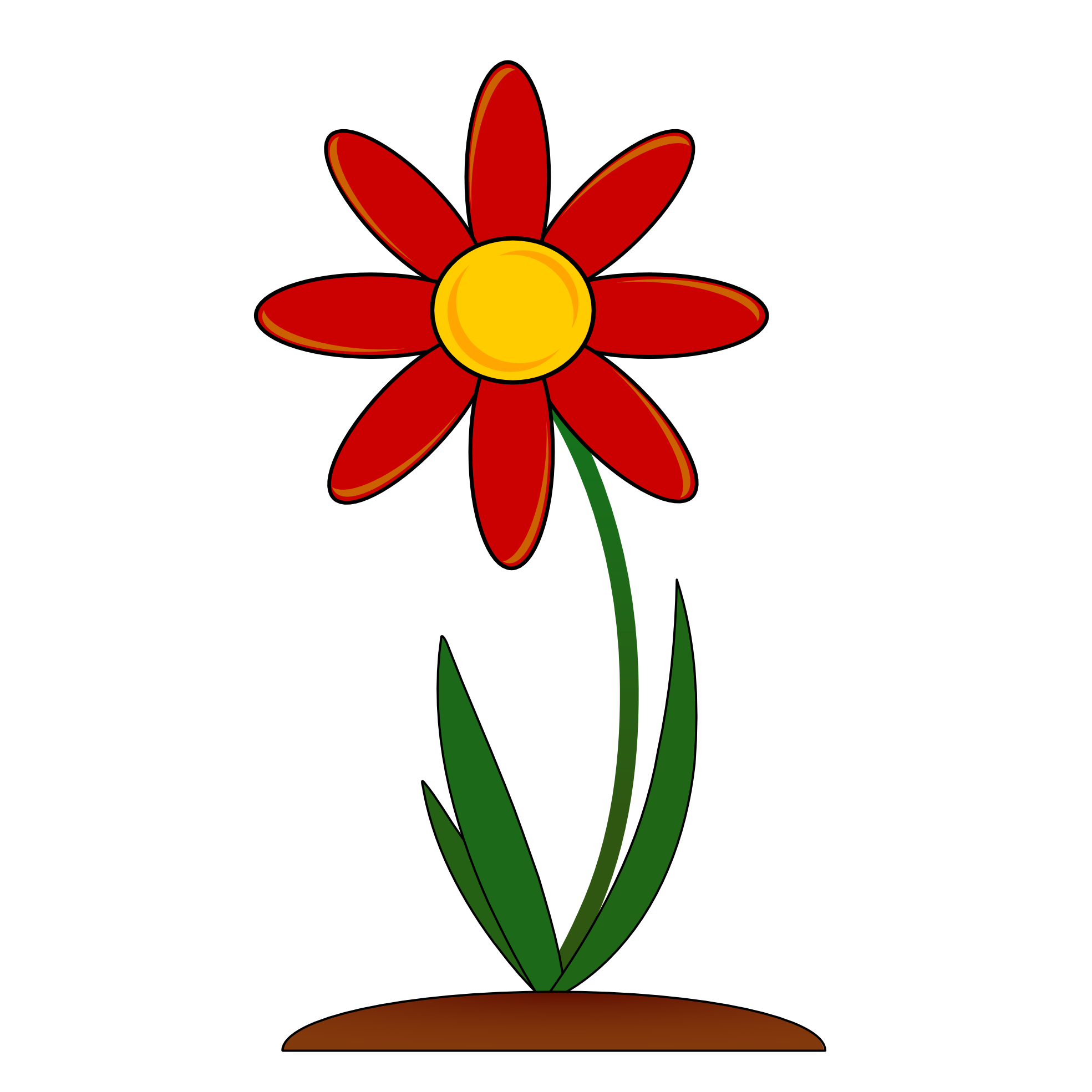 Red Flower clipart #15, Download drawings