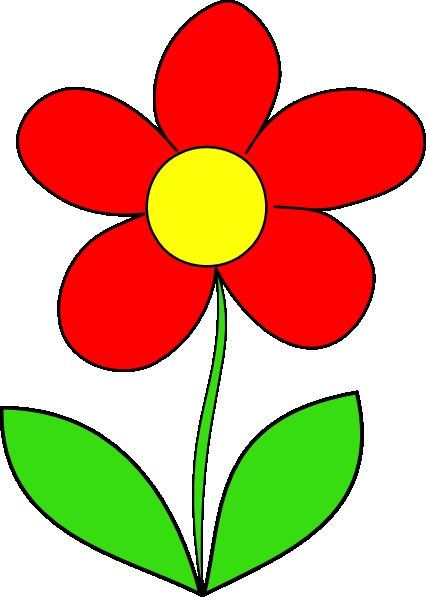 Red Flower svg #8, Download drawings
