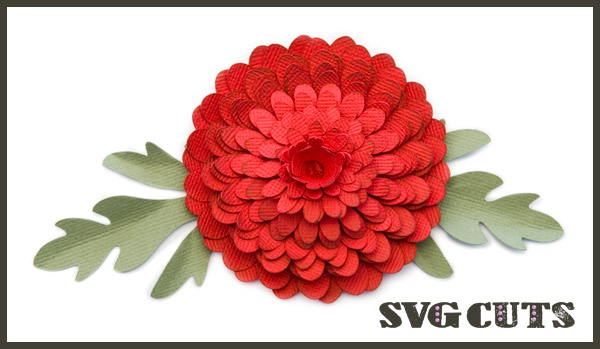 Red Flower svg #7, Download drawings
