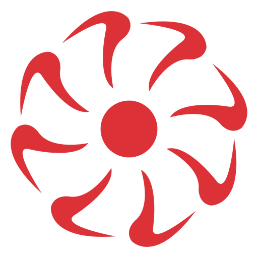 Red Flower svg #2, Download drawings