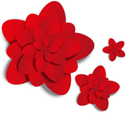 Red Flower svg #18, Download drawings