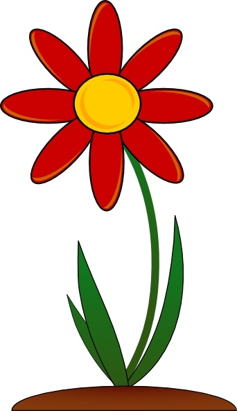 Red Flower svg #17, Download drawings