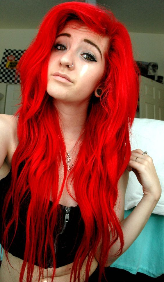 Red Hair coloring #10, Download drawings