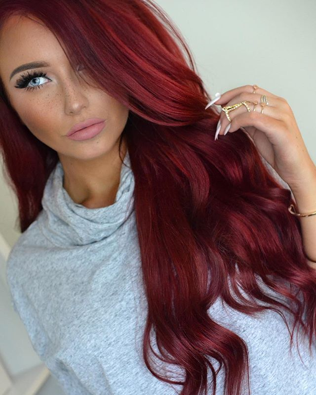 Red Hair coloring #17, Download drawings