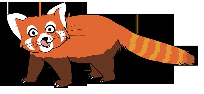 Red Panda clipart #17, Download drawings