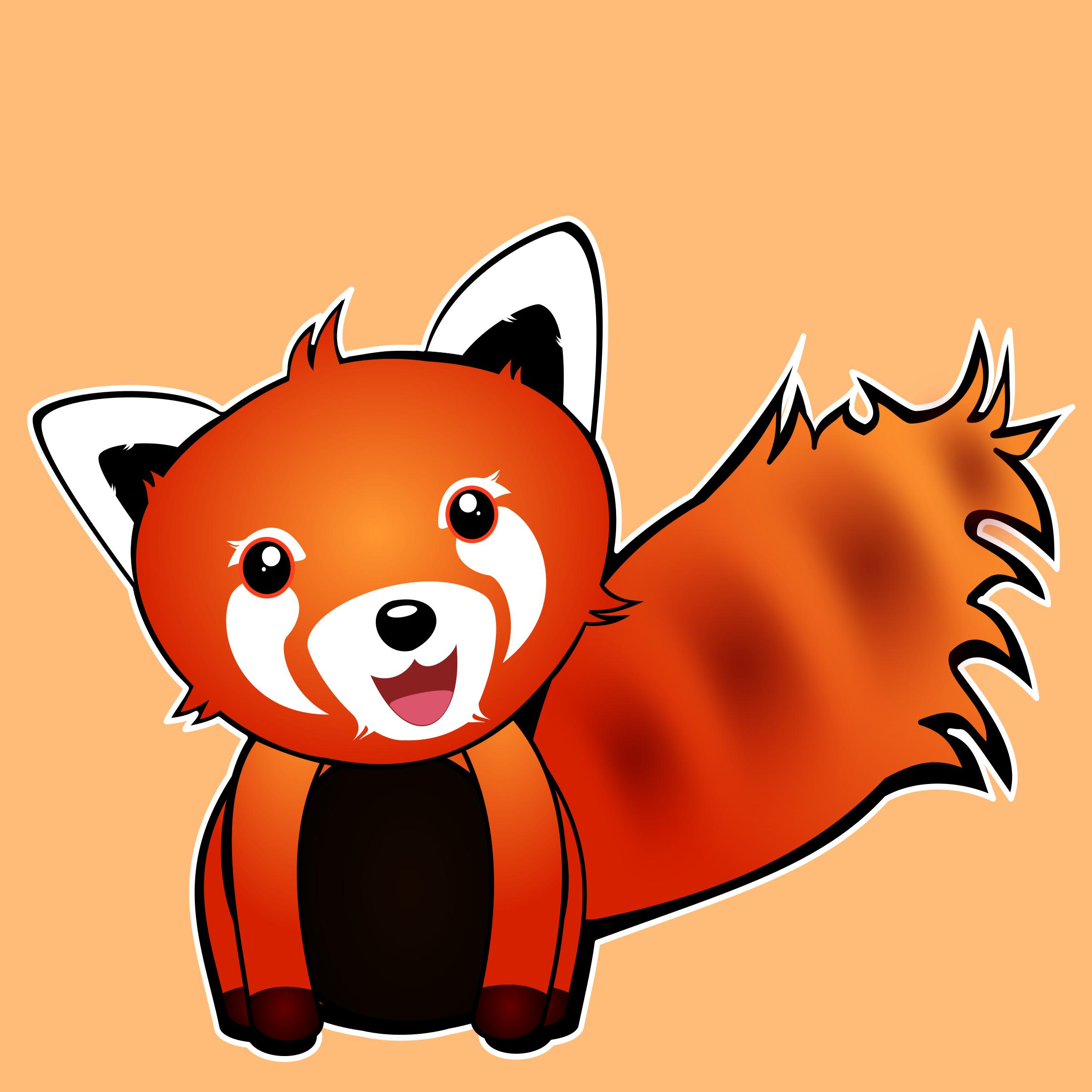 Red Panda clipart #4, Download drawings