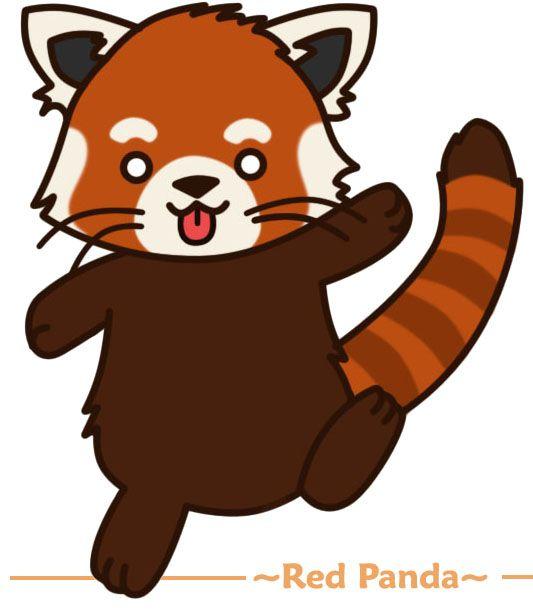 Red Panda clipart #5, Download drawings